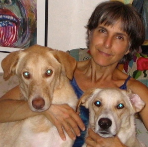 Our two dogs and Me