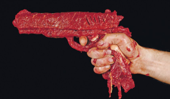 meat as gun